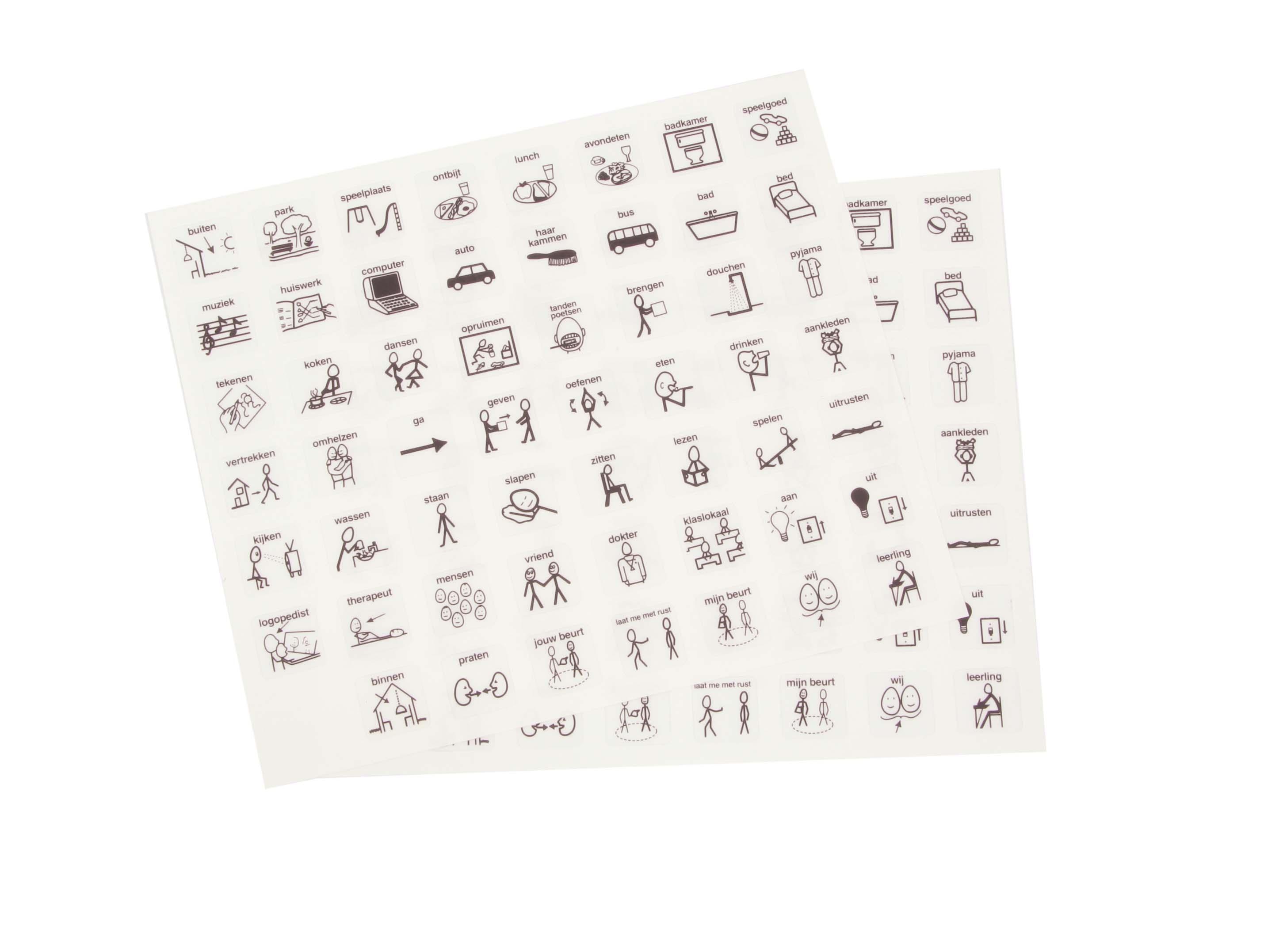 Stickervellen (met en zonder tekst) - Robo Educational Toys
