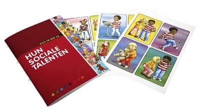 Ref.nr. K6513 - Katern Mies en Max en hun sociale talenten en emotiekaarten