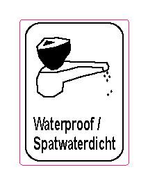 spatwaterdicht