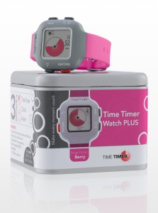 Time Timer horloge Plus - berry