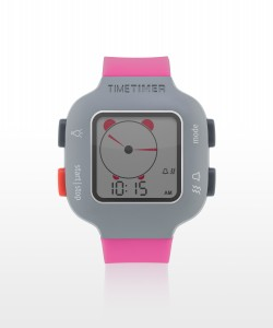 Time Timer horloge Plus - kindermodel - berry