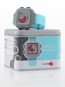 Time Timer horloge Plus - blauw