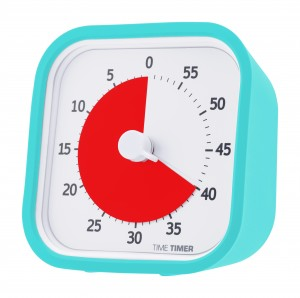 hoesje voor Time Timer MOD, turquoise blauw