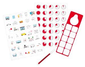 Time Timer Magnetic Pictogram Kit